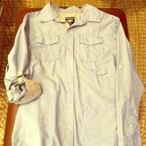 Dravus button up long sleeve shirt